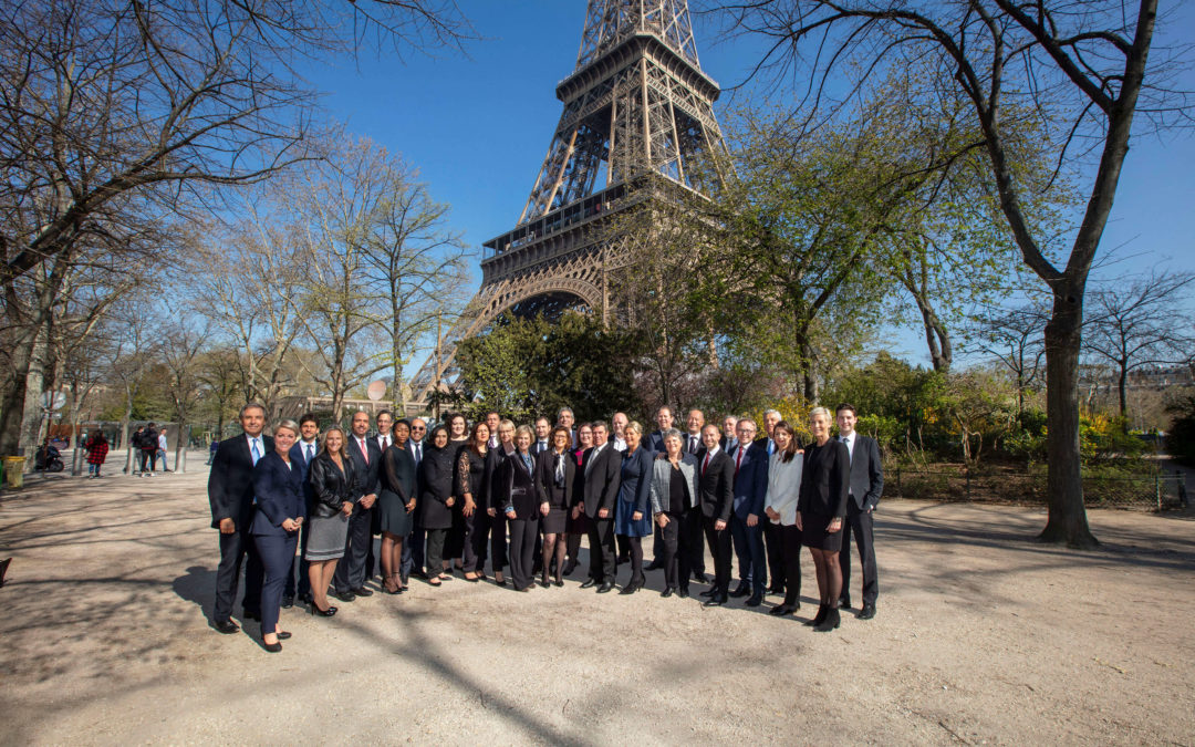Weltweites Beratertreffen in Paris