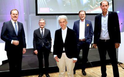 DIE FAMILIENUNTERNEHMER – Wahlkampf vor Publikum in der Rheinterrasse Düsseldorf