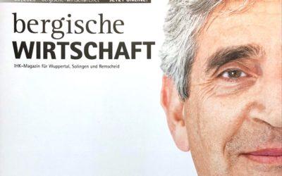 Bergische Wirtschaft | Resilienz in Unternehmen – ZUKUNFT IST JETZT – Interview mit Lothar Grünewald